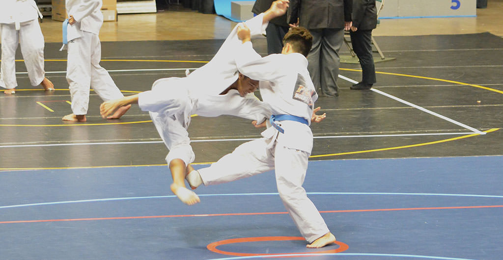 Boys Judo 2014-2015 at Mid-Pacific