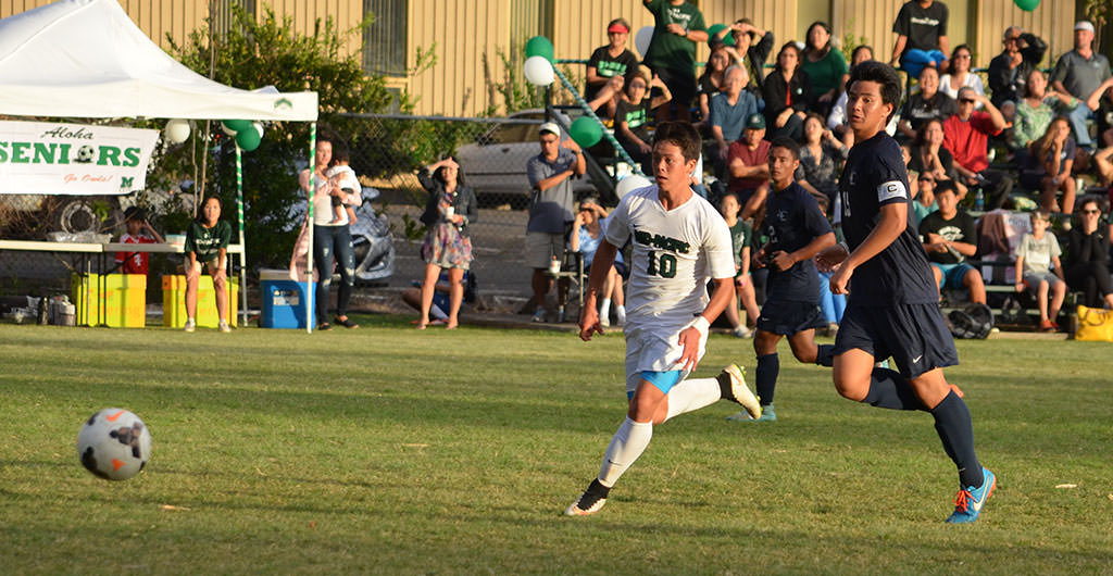 Boys Soccer 2015-2016 at Mid-Pacific