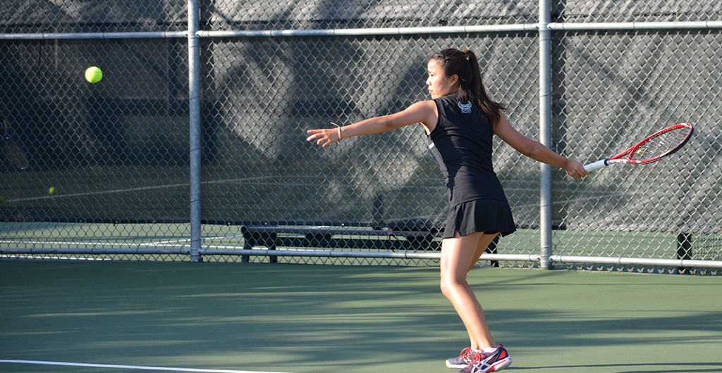 Girls Tennis 2014-2015 at Mid-Pacific
