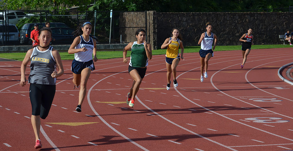 Track & Field Archives at Mid-Pacific