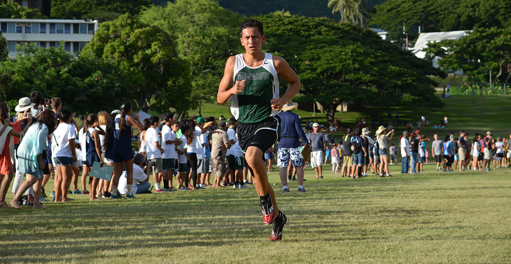 Boys Cross Country 2015-2016 at Mid-Pacific