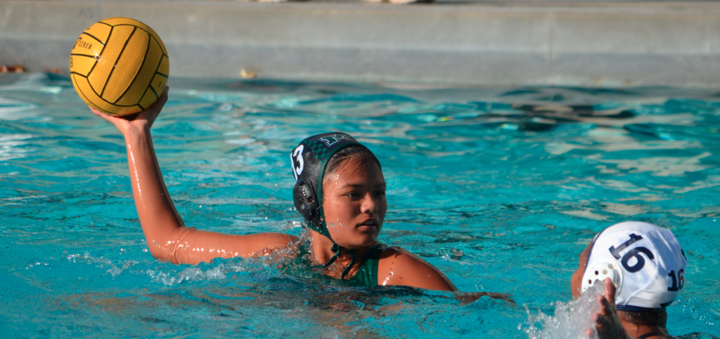 Girls Water Polo at Mid-Pacific