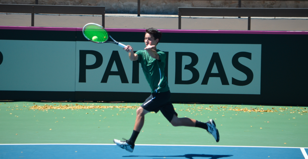 Tennis at Mid-Pacific