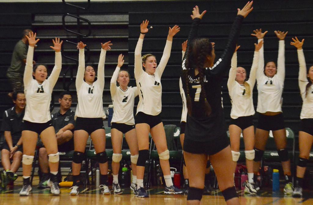 Girls Volleyball 2016-2017 at Mid-Pacific