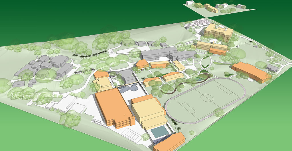 Mid Pacific Institute Campus Map.About Master Plan Mid Pacific Institute