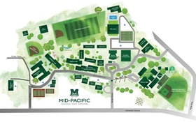 Mid Pacific Institute Campus Map.About Directions Mid Pacific Institute