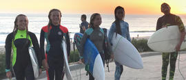 Mid-Pacific Surf Club Shines on National Stage