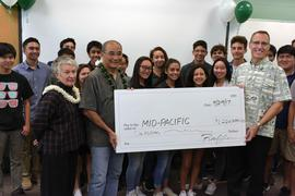 Trustee Ron Yara '65 and Maggie Eaton donate $1M to Mid-Pacific