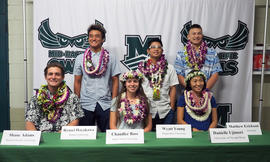 Six sign National Letters of Intent