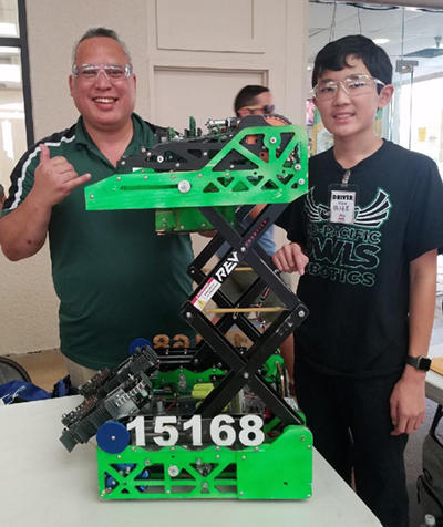 Mid-Pacific FTC Robotics Team undefeated at 10-0 - Mid